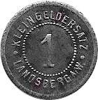 1 Pfennig (Landsberg an der Warthe) [Stadt, Brandenberg – revers