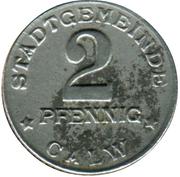 2 Pfennig (Calw) [Stadt, Württemberg] – avers