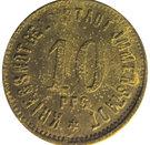 10 Pfennig (Immenstadt) [Stadt, Bayern] – avers