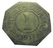 10 pfennig (Mühlhausen) – revers