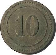 10 Pfennig (P.O.W. Camp Coinage - Munster 1) – revers