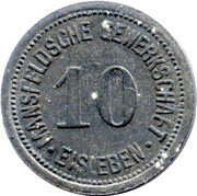 10 Pfennig (Eisleben) – avers