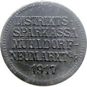 10 pfennig (Mühldorf - Neumarkt) [Distriktssparkasse , Bayern] – avers