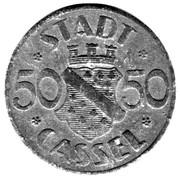 50 Pfennig (Cassel) – avers