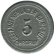 5 Pfennig (Ohrdruf) [POW, Sachsen-Coburg-Gotha) – avers