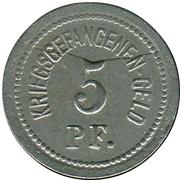 5 Pfennig (Ohrdruf) [POW, Sachsen-Coburg-Gotha) – revers