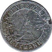 10 Pfennig (Mettmann) – avers