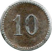 10 pfennig (Teterow) – revers