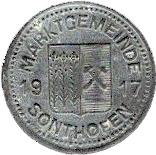 10 pfennig (Sonthofen) – avers