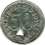 50 Pfennig (Neheim) [Stadt, Westfalen] – revers