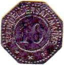 10 pfennig (Pinneberg) 1917 – revers