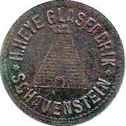 10 Pfennig (Schauenstein) [Private, Hessen-Nassau, H. Heye Glasfabrik] – avers
