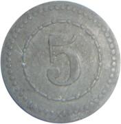 5 pfennig (P.O.W.monnaie de camp - Schneidemühl) – revers