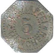 5 Pfennig [J.A. Mafei München) [Stadt, Bavaria] – avers