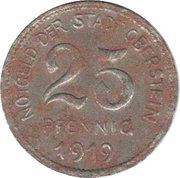 25 Pfennig (Oberstein) [Stadt, Oldenburg-Birkenfeld] – avers
