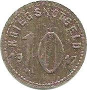 10 Pfennig (Speyer) [Kreishauptstadt, Rheinpfalz] – revers
