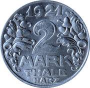 2 Mark (Thale am Harz) – avers