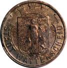 50 Pfennig (Wattenscheid) [Stadt, Westfalen] – avers