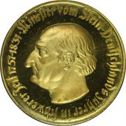 10 000 marks (Westfalen; Freiherr v. Stein) – revers