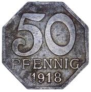 50 Pfennig (Maulbronn) [Oberamtsbezirk, Württemberg] – revers