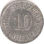 10 Pfennig Offizier Gefangenenlager (Neisse) – avers
