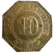 10 Pfennig (Frauenau) [Private, Bayern] – revers