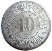 10 pfennig (P.O.W. Monnaie de camp - Schneidemühl) – avers