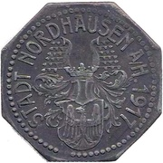 10 pfennig (Nordhausen a/H.) – avers