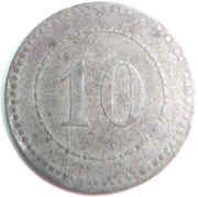 10 pfennig (P.O.W. Monnaie de camp - Schneidemühl) – revers