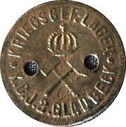 10 Pfennig (Gladbeck) [POW, Westfalen] – revers