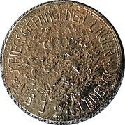 5 Mark (Gladbeck) [POW, Westfalen] – revers