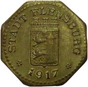 10 pfennig (Flensburg) – avers