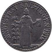 10 Pfennig (Salzungen) [Stadt, Sachsen-Meiningen] – avers