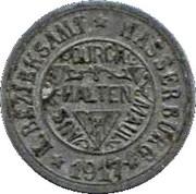 10 Pfennig (Wassenburg) – avers