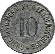 10 Pfennig (Wassenburg) – revers