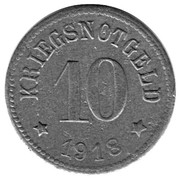 10 Pfennig (Roth) – revers