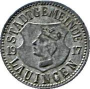 10 Pfennig (Lauingen) – avers