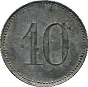 10 Pfennig (Lauingen) – revers