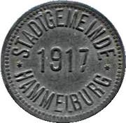 10 Pfennig (Hammelburg) – avers