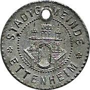 5 Pfennig (Ettenheim) [Stadt, Baden] – avers