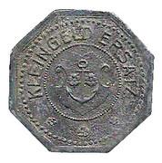 50 Pfennig (Kehl am Rhein) [Stadt, Baden] – revers