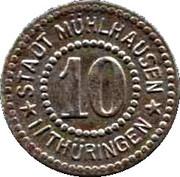 10 Pfennig (Mühlhausen) -  avers