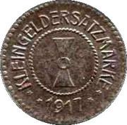 10 Pfennig (Mühlhausen) -  revers