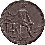 10 Pfennig (Stadtamhof) [Private, Bayern, Anton Knabel] – revers