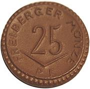 25 pfennig (Freiberg) – avers