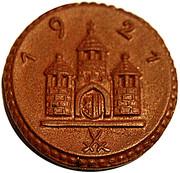 25 pfennig (Freiberg) – revers