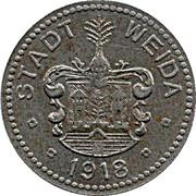 50 Pfennig (Weida) – avers