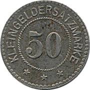 50 Pfennig (Weida) – revers