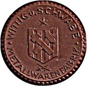 1 Mark (Lengefeld) – revers