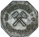 10 Pfennig (Hayingen) [Lothringen, Gemeinde] – avers